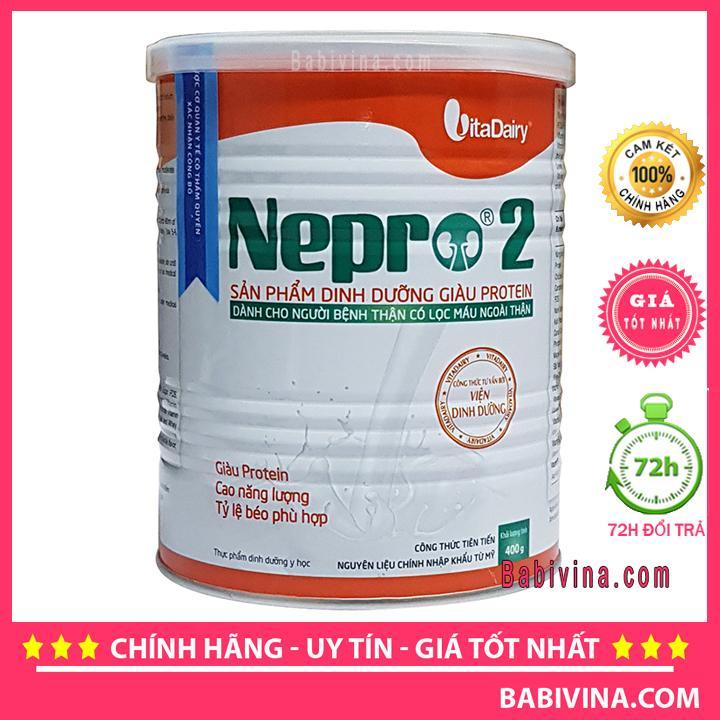 Sữa Thận Nepro 2 400g Dành Cho Bệnh Nhân Chạy Thận