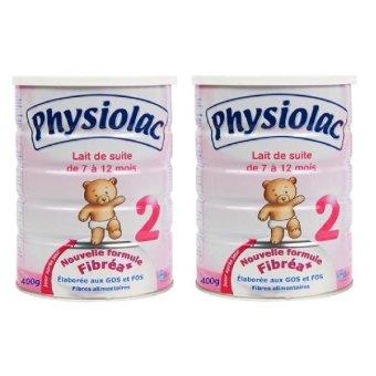 Bộ 2 sữa Physiolac 2 900g x 2