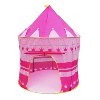 Lều bóng lâu đài công chúa xinh xắn cho bé(Hồng)