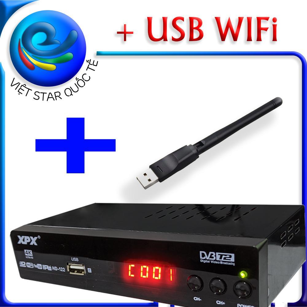 Đầu thu kỹ thuật số Dvb t2 - XPX - dau thu truyen hinh mat dat Dvb t2- Full HD 1080p thu được hơn 80 kênh truyền hình phổ thông