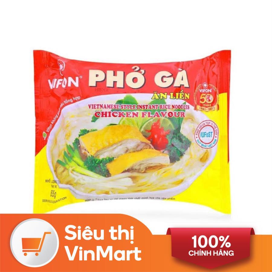 [Siêu thị VinMart] -  Phở gà ăn liền Vifon gói 65g
