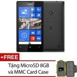 Nokia Lumia 520 Đen + Tặng thẻ nhớ MicroSD 8GB và MMC Card Case - Hãng phân phối chính thức tại Lazada