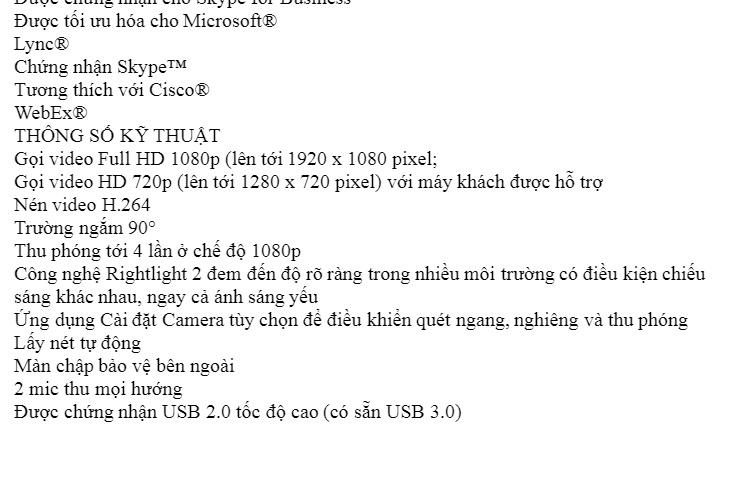 WebCam Logitec C922 PRO STREAM 5