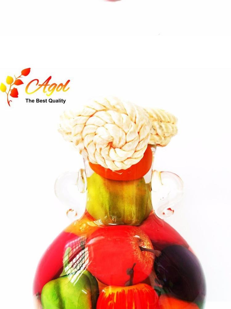 bình TRANG TRÍ trái cây cao tặng bình trang trí trái cây trung - 3