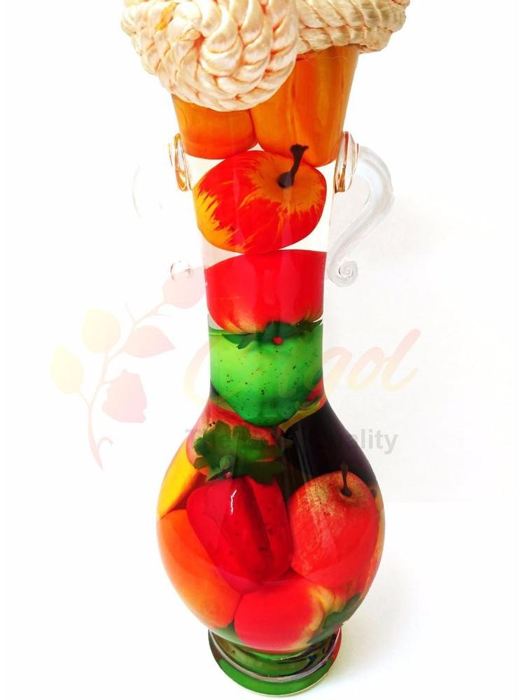 bình TRANG TRÍ trái cây cao tặng bình trang trí trái cây trung - 6
