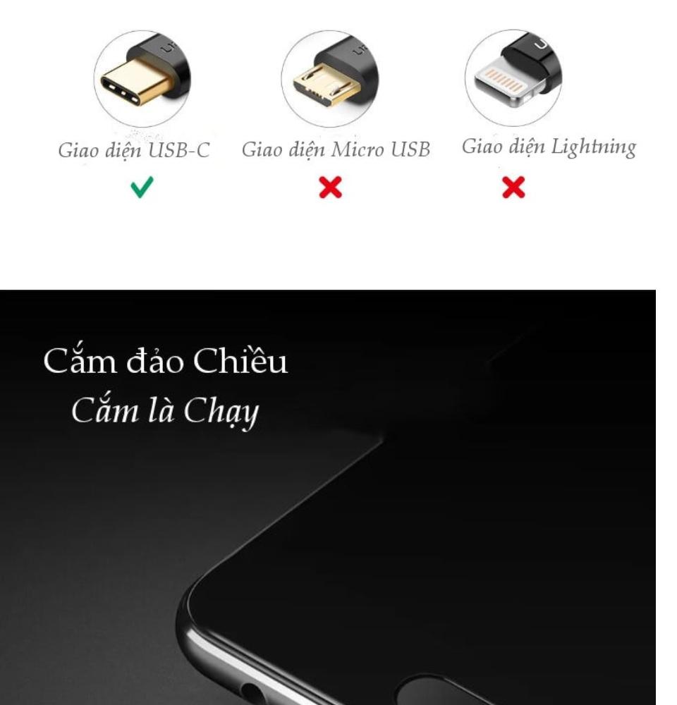 Cáp sạc và truyền dữ liệu từ cổng USB 2.0 sang cổng USB type C, hỗ trợ dòng 5A, dài từ 0.5 đến 2m cho Huawei P10 /Mate10/20 Pro /Honor V10... UGREEN US253 - Hãng phân phối chính thức