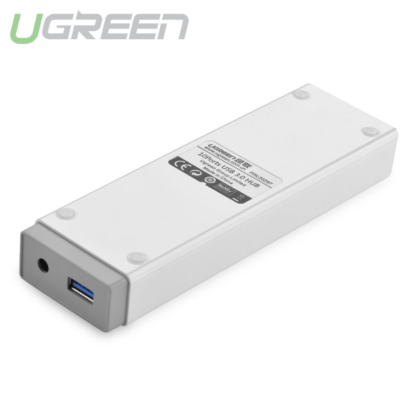 Hub đa chức năng 10 cổng USB 3.0 dài 1m UGREEN CR117 20297