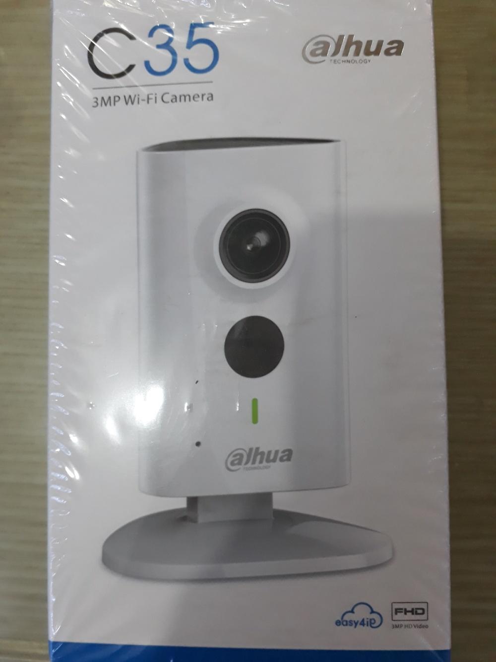 Camera Wifi Dahua C35 3MP (Màu trắng)
