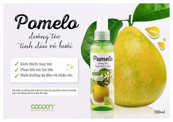 Pomelo Dưỡng tóc tinh dầu vỏ bưởi