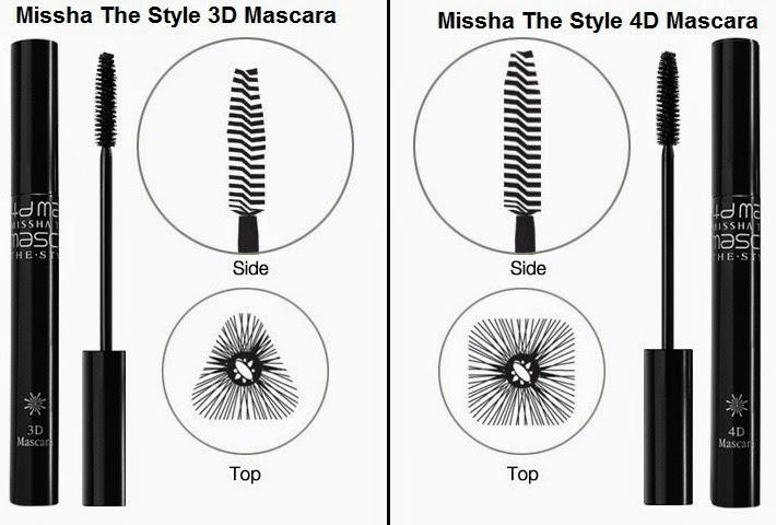 Thiết kế đầu cọ hình vuông giúp trải đều lớp mascara trên từng sợi mi mà không gây vón cục