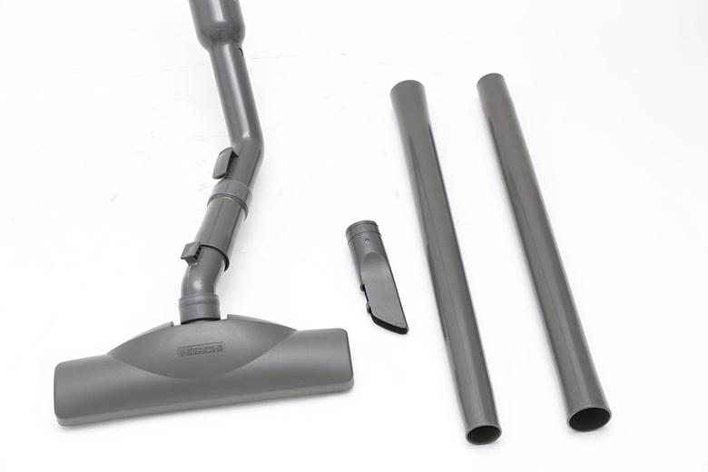 Máy hút bụi Hitachi BM16 – Đầu hút sàn và đầu hút khe tiện dụng