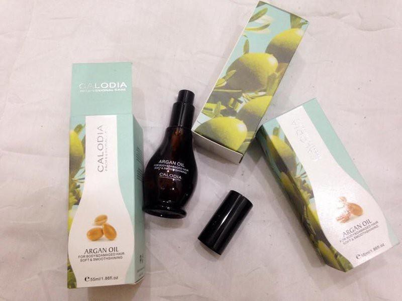 Dưỡng tóc Calodia Argan oil 3