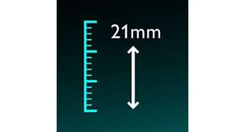 Cài đặt độ dài chính xác cao (khoảng 2mm)